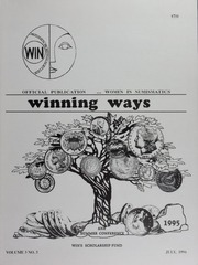Winning Ways: Official Publication of Women in Numismatics, vol. 3, no. 3