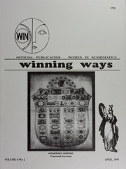 Winning Ways: Official Publication of Women in Numismatics, vol. 4, no. 2