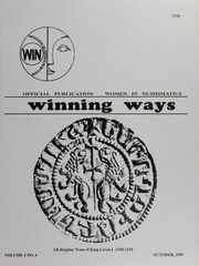 Winning Ways: Official Publication of Women in Numismatics, vol. 4, no. 4