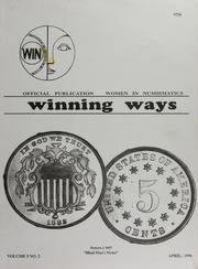 Winning Ways: Official Publication of Women in Numismatics, vol. 5, no. 2