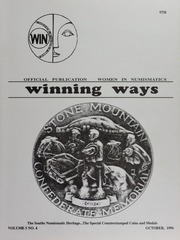Winning Ways: Official Publication of Women in Numismatics, vol. 5, no. 4