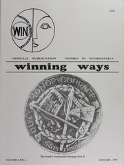 Winning Ways: Official Publication of Women in Numismatics, vol. 6, no. 1