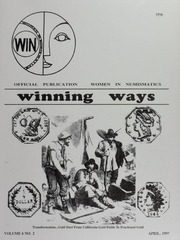 Winning Ways: Official Publication of Women in Numismatics, vol. 6, no. 2