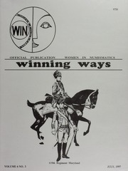 Winning Ways: Official Publication of Women in Numismatics, vol. 6, no. 3