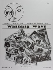 Winning Ways: Official Publication of Women in Numismatics, vol. 6, no. 4