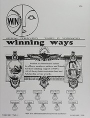 Winning Ways: Official Publication of Women in Numismatics, vol. 7, no. 1