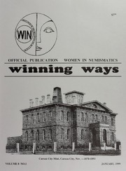 Winning Ways: Official Publication of Women in Numismatics, vol. 8, no. 1