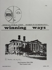 Winning Ways: Official Publication of Women in Numismatics, vol. 8, no. 2