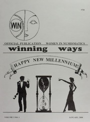 Winning Ways: Official Publication of Women in Numismatics, vol. 9, no. 1
