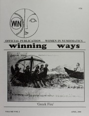 Winning Ways: Official Publication of Women in Numismatics, vol. 9, no. 2