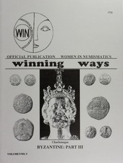 Winning Ways: Official Publication of Women in Numismatics, vol. 9, no. 3