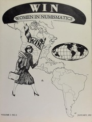 WIN: Women in Numismatics, vol. 1, no. 1