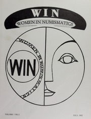 WIN: Women in Numismatics, vol. 1, no. 3