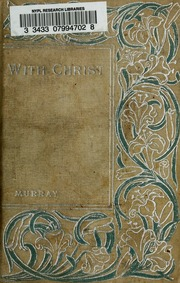 IN WITH CHRIST THE SCHOOL OF PRAYER