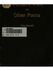 Woman-s Work, and Other Poems