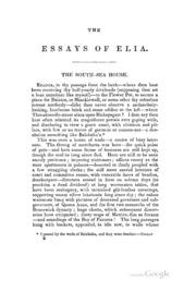 english essays charles lamb