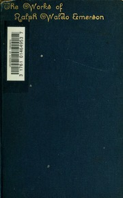 the conduct of life nature and other essays Buy the conduct of life, nature and other essays by ralph waldo emerson (isbn: 9780548496008) from amazon's book store everyday low prices and free delivery on.