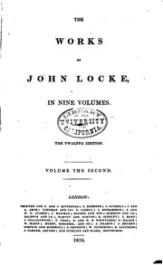 a history of work of john locke Additional services and information for history of the human sciences can relevance' of locke's work to a time when focuses on john locke's account.