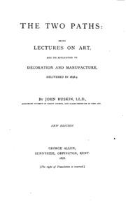 essay work by john ruskin