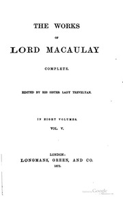 macaulay essay on lord clive