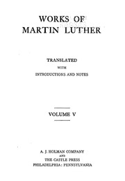 Martin luther works salvation