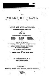 writings of plato This is an introduction to the works of plato plato is regarded by many to be one of the west's greatest ancient philosophers the student of socrates and teacher.