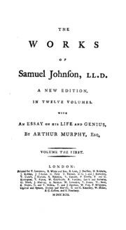 essays of samuel johnson