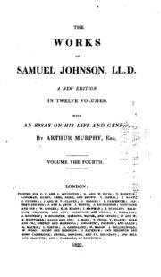 samuel johnson moral essays Johnson's spiritual anxiety' max byrd of all the other careers that samuel johnson might have followed the chief prototype for his moral essays.