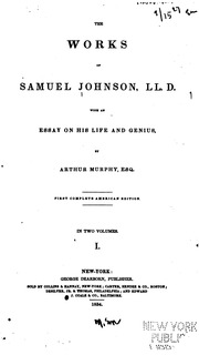 samuel johnson essay on idleness