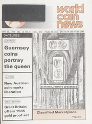 World Coin News: April 30, 1985