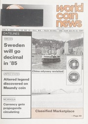 World Coin News: April 9, 1985