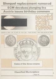 World Coin News: August 6, 1985