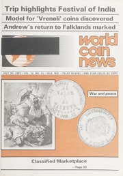 World Coin News: July 30, 1985