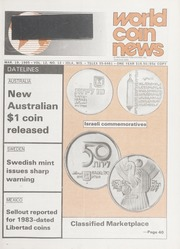 World Coin News: March 19, 1985