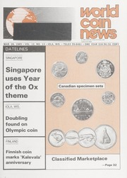 World Coin News: March 26, 1985