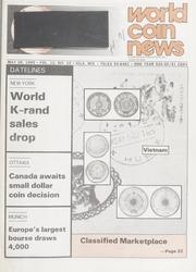 World Coin News: May 28, 1985