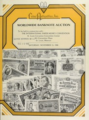 Worldwide banknote auction ... [11/15/1986]