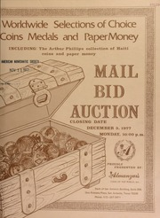 Worldwide selections of choice coins, medals, paper money : including the Arthur Phillips collection of Haiti coins and paper money ... [12/05/1977]