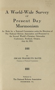 the origin of mormonism When we consider the history of christianity regarding the origin of the universe ( and ultimately, humankind), the teachings of mormonism.