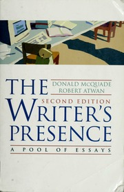 The writers presence a pool of essays mcquade donald free the writers presence a pool of essays mcquade donald free download borrow and streaming internet archive fandeluxe Image collections