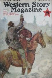 Western Story Magazine - September 9, 1933 - Pulp Magazine