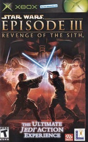 XBOX Manual: Star Wars - Episode III - Revenge of the Sith
