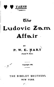 Yarns: The Ludovic Zam Affair