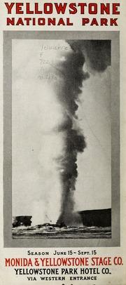 Vol no.219a: Yellowstone National Park