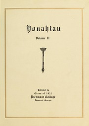 Vol 1922: Yonahian