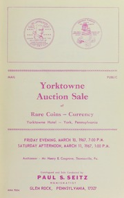 Yorktown Auction Sale