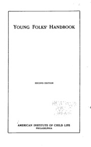 Young Folks Handbook