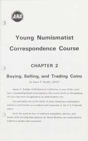Young Numismatist Correspondence Course