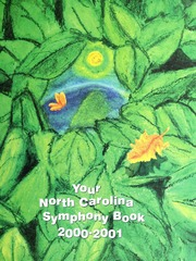 Vol 2000-2001: Your North Carolina Symphony Book