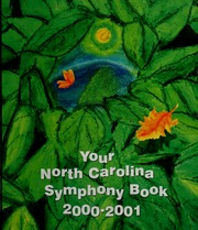 Vol 2001: Your North Carolina Symphony Book